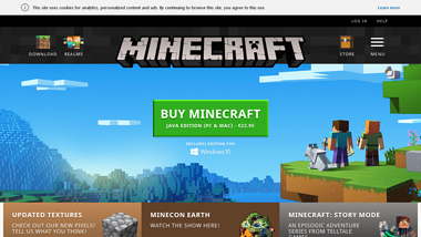 is Minecraft Up or Down