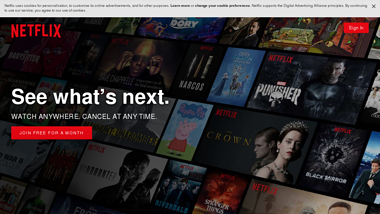is netflix Up or Down