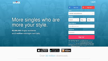 Zoosk.com - Is Zoosk Down right now, up or me. Down detector